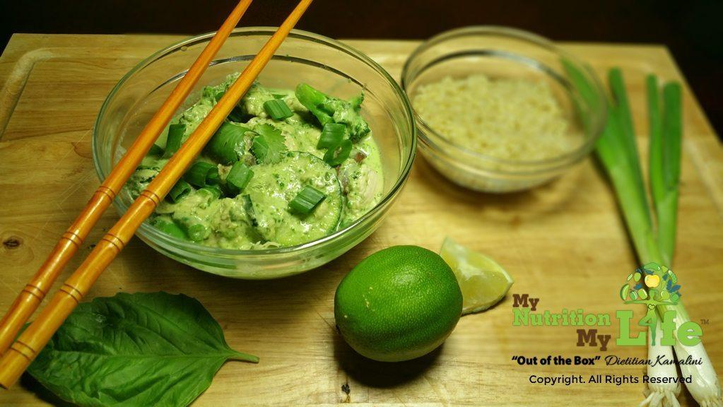 shamrock green curry
