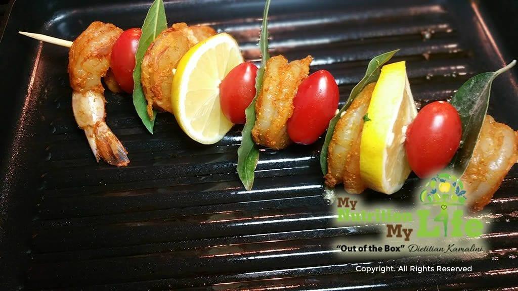 Fiery Shrimp Gluten Free